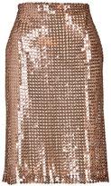 Marios Schwab Sequined Pencil Skirt