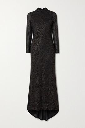 Alice + Olivia Alice Olivia - Delora Crystal-embellished Tulle Gown - Black