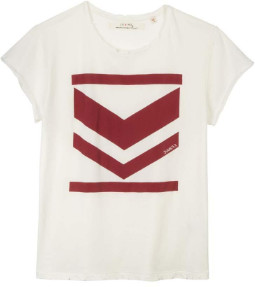 June 7.2 - Off White Demps Tee - cotton | S . | off white - Off white
