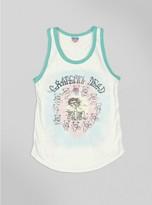 Junk Food Clothing Kids Girls Grateful Dead Skull Tank-su/mt-l