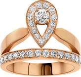 Chaumet Joséphine 18ct rose-gold and diamond tiara ring