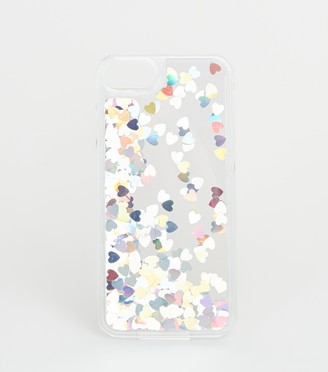 New Look Holographic Heart Case for iPhone 6/6s/7/8