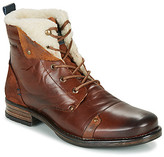 YOUDINE men's Mid Boots in Brown