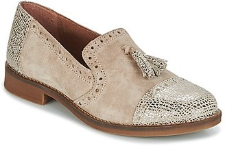 Myma BALUGE women's Loafers / Casual Shoes in Beige