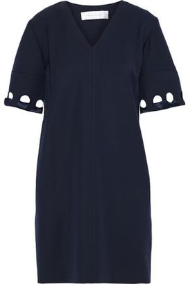 Victoria Victoria Beckham Cutout Wool-twill Mini Dress