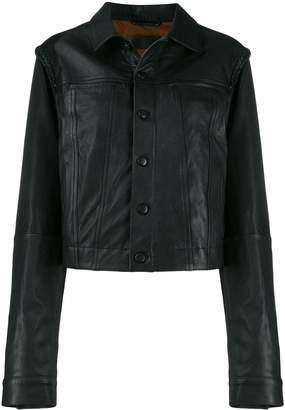 Haider Ackermann slim-fit biker jacket