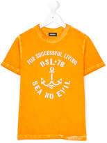 Diesel anchor print t-shirt