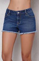 PacSun Creek Blue Low Rise Cutoff Denim Shorts