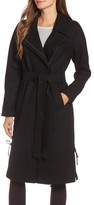 Andrew Marc Women's Baylee Asymmetrical Wool Blend Coat