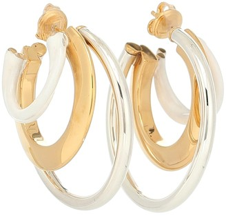 Bottega Veneta Multi-hoop 925 sterling silver earrings