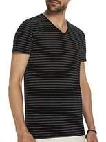 Scotch & Soda Men's Basic V-Sneck T-Shirt