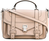 Proenza Schouler contrast stitch satchel - women - Leather - One Size