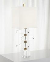 John-Richard Collection John Richard Collection Asymmetrical Crystal Table Lamp