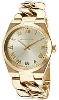 Michael Kors Channing MK3393 Women's Wrist Watches, Gold Dial
