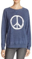 Nation Ltd. Peace Sign Raglan Pullover - 100% Bloomingdale's Exclusive