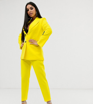 ASOS DESIGN Petite slim suit pants