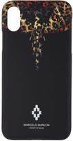 Marcelo Burlon County of Milan Black Leopard Wings iPhone X Case