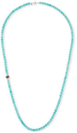 """Armenta New World Amazonite Beaded Necklace, 38"""""""