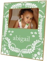 The Well Appointed House Apple Green Provencial Decoupage Photo Frame-Can Be Personalized