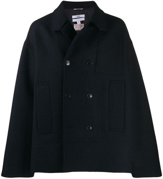 Oamc double breasted coat