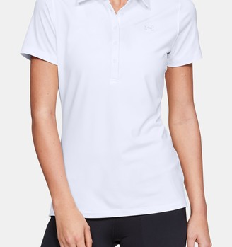 Under Armour Women's UA Zinger Short Sleeve Polo