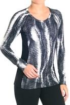 SnowAngel Snow Angel Post Modern Print Slimline Base Layer Top - Long Sleeve (For Women)