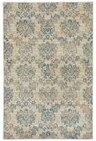 Liora Manné Royalty Damask 3-Foot 3-Inch x 4-Foot 11-Inch Accent Rug in Creme