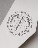 Three Designing Women Scroll Address Stamp
