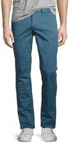 Michael Kors Slim Five-Pocket Pants, Blue