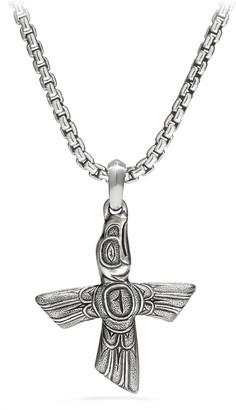 David Yurman Bird Cross Sterling Silver Pendant
