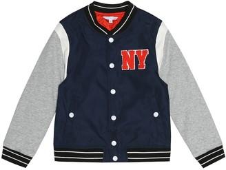 Little Marc Jacobs Appliqued varsity jacket
