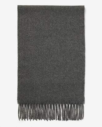 Express Solid Woven Scarf