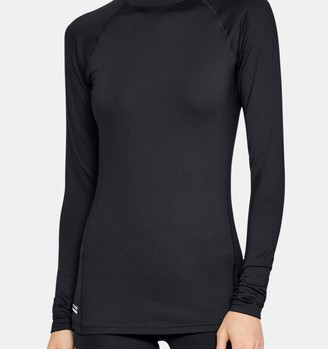 Under Armour Women's UA Tactical Reactor Mock Base Long Sleeve Shirt