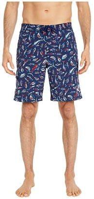 Tommy Bahama Baja Tails From The Sea Boardshorts (Ocean Deep) Men's Swimwear