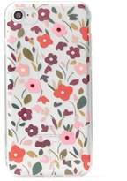 Kate Spade Boho Floral Clear Studded Iphone 7 Case