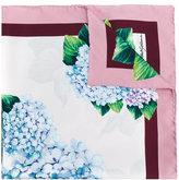 Dolce & Gabbana hydrangea print scarf - women - Silk - One Size