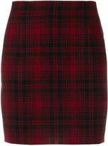 DSQUARED2 checked mini skirt