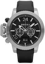 Brera Orologi Militare Watch with Black Strap, 48mm