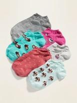 Old Navy Printed Ankle Socks 6-Pack for Women
