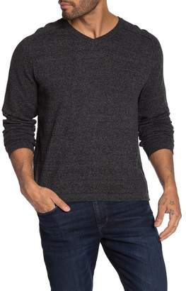Weatherproof Vintage V-Neck Raglan Sleeve Knit Sweater