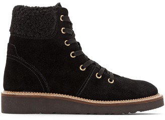 Esprit Cortina Lace Ankle Boots