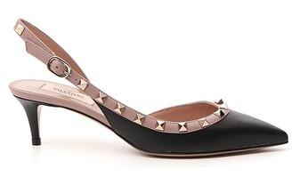 Valentino Rockstud Slingback Shoes