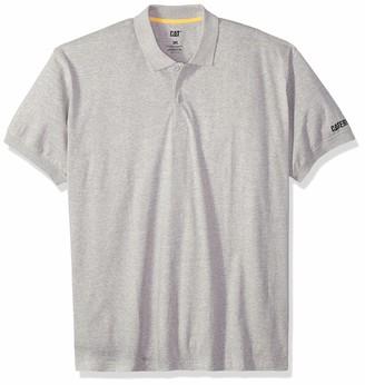 Caterpillar Men's Big-Tall Classic Cotton Polo Shirt