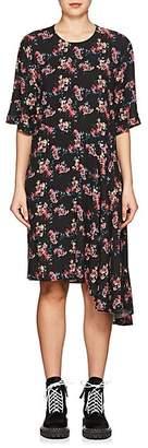 Public School Women's Rima Floral Asymmetric Dress - Black