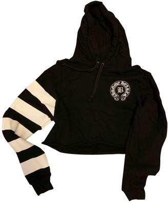 Chrome Hearts Black Cotton Knitwear for Women