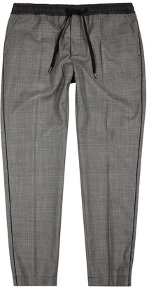 Dolce & Gabbana Houndstooth wool-blend trousers