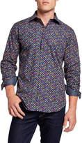 Bugatchi Men's Shape-Fit Sports Shirt