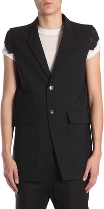 Rick Owens Sleeveless Tailored Jacket