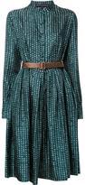 Martin Grant printed buttoned dress - women - Cotton/Silk - 40