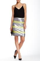 Vince Camuto Sequin Stripe Pencil Skirt